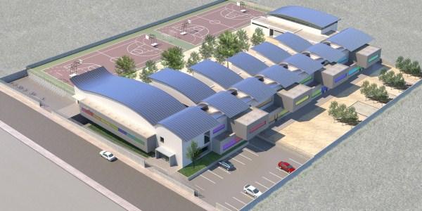 Centro de educacion infantil y primaria. Almendralejo. Badajoz. Concurso