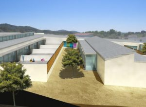 Centro de educacion infantil. Aracena. Huelva. Concurso