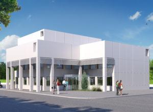 Reforma de edificio para clinica dental en Castres (Francia)