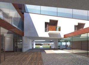 Hospederia de Turismo. Villafranca de los Barros. Badajoz. Concurso